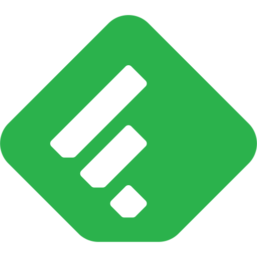 Feedly RSS logo.png